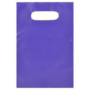 "Tinted Opaque Merchandise Bag (6""X9"") (Royal Blue)"