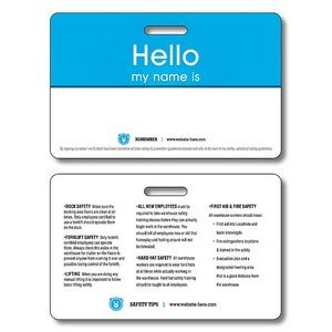 10 Pt. UV Coated (C1S) Plastic ID/Wallet Card