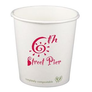 4 Oz. Eco-Friendly Compostable Paper Hot Cup