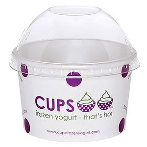 4 Oz. Paper Dessert/ Food Cup - Flexographic Printed