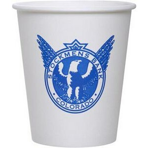 8 Oz. Hot/Cold Paper Cup (QuickShip)