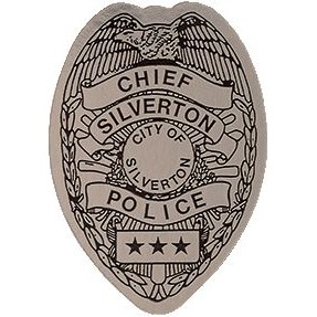 Quick Ship Police Badge Labels - Roll