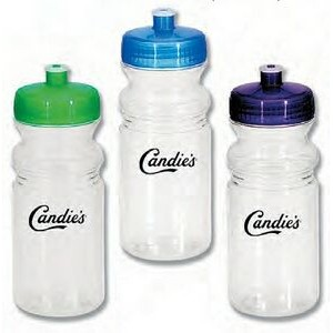 20 Oz. Poly Clear Sports Bottle