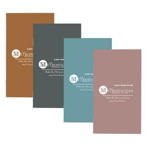 Metallic Color Cardstock Cover Monthly Pocket Planner