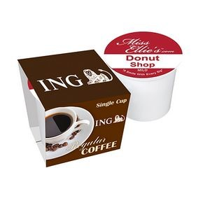 Single Serve Coffee Cup with Sleeve