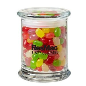 Status Glass Jar - Assorted Jelly Beans (12.5 Oz.)