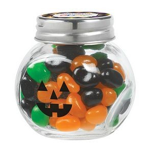 Cryptic Canister Jar w/ Monster Mix Gourmet Jelly Beans