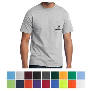 Port & Company® Core Blend Pocket Tee