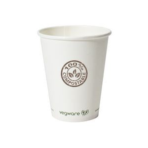 8 Oz. Compostable Paper Hot Cup (Grande Line)
