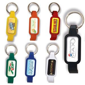Portable Bottle Opener w/ Key Ring