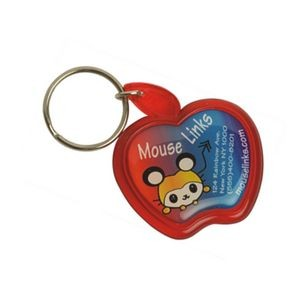 Apple Shape Acrylic Key Tag