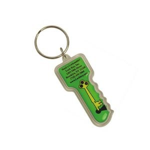 Key Shape Acrylic Key Tag