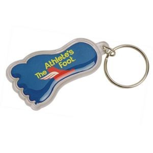 Foot Shape Acrylic Key Tag