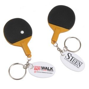 Ping Pong Paddle Keychain