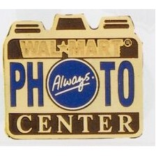 "7/8"" Photo Etched Brass Lapel Pin"
