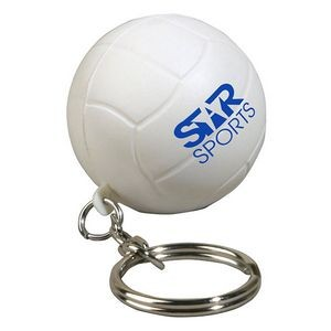 Volleyball Stress Reliever Key Chain
