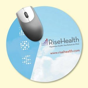 "Origin'L Fabric® 8"" Round x3/16"" Antimicrobial MousePad"