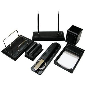 Premium Leather Desk Gift Set