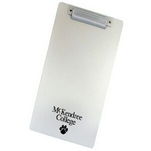 Aluminum Plastic Legal Size Clipboard