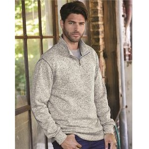 Weatherproof® Vintage Sweater Fleece Quarter Zip Sweatshirt