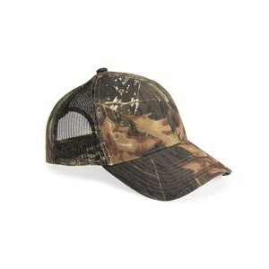 Outdoor Cap® Mesh Back Camo Cap