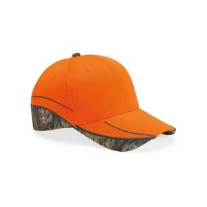 Outdoor Cap® Blaze Cap w/Camo Trim