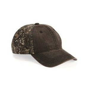 Outdoor Cap® Weathered and Camo Cap
