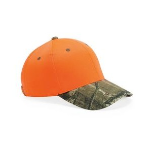 Outdoor Cap® Blaze Crown Camo Visor Cap