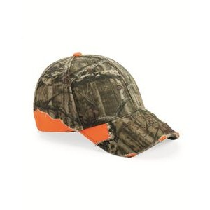 Outdoor Cap® Camo to Solid Frayed Cap