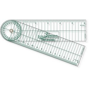 ".030 Clear Plastic Stock Shape Goniometer (1.75""x12.25"")"