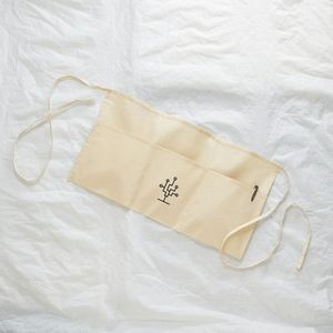 Q-Tees Economical Waist Apron W/ 3 Equal Compartments