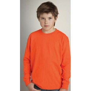 Gildan® Cotton Youth Long Sleeve T-Shirt
