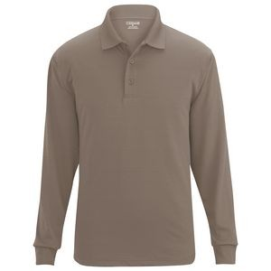 Edwards Unisex Snag-Proof Long Sleeve Polo Shirt