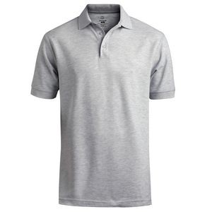 Edwards Unisex Short Sleeve Soft Touch All Cotton Pique Polo Shirt