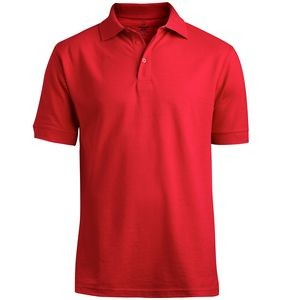 Edwards Men's Blended Pique Short Sleeve Polo