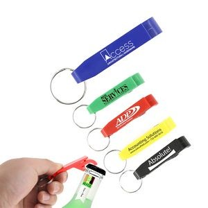 ValuePlus Bottle/Can Opener Key Chain (Blue)