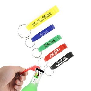 Value Bottle/Can Opener Key Chain (Yellow)