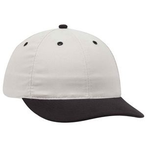 OTTO Brushed Cotton Twill 6 Panel Low Profile Baseball Cap