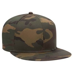 OTTO Snap 6 Panel Pro Style Camouflage Cotton Blend Twill Snapback Hat