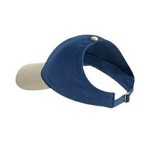 OTTO Brushed Cotton Blend Twill Four Panel Ponytail Cap