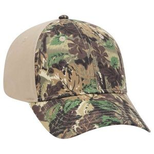 OTTO Camouflage Cotton Blend Twill 6 Panel Low Profile Baseball Cap