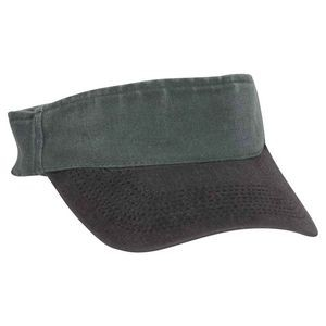 "OTTO Garment Washed Pigment Dyed Cotton Twill ""OTTO FLEX"" Sun Visor"