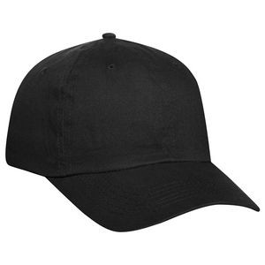 OTTO Brushed Promo Cotton Twill 6 Panel Low Profile Baseball Cap