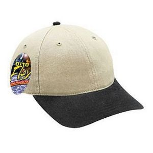 OTTO Garment Washed Cotton Twill 6 Panel Low Profile Baseball Cap