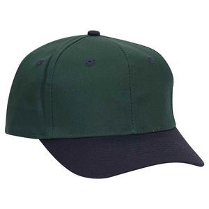 OTTO Cotton Blend Twill 6 Panel Pro Style Baseball Cap
