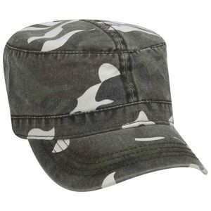 OTTO Camouflage Garment Washed Superior Cotton Twill Military Hat
