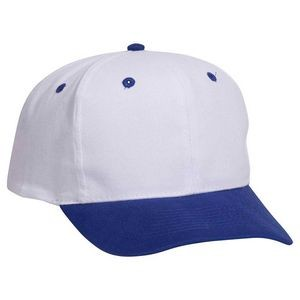 OTTO Brushed Cotton Blend Twill 6 Panel Pro Style Baseball Cap