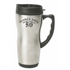 16 Oz. Travel Mug w/ Plastic Liner *To Be Discontinued*