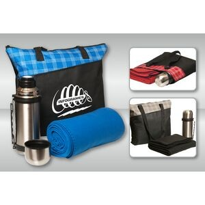 "3 Piece ""Stay-Warm"" Travel Tote Set"