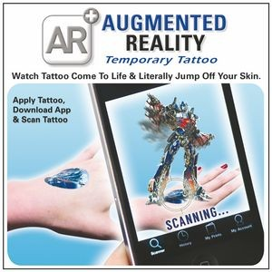 Augmented Reality Temporary Tattoos